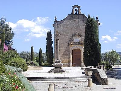 VENEZ ET VOYEZ- chapelle S.Denis à Rognes